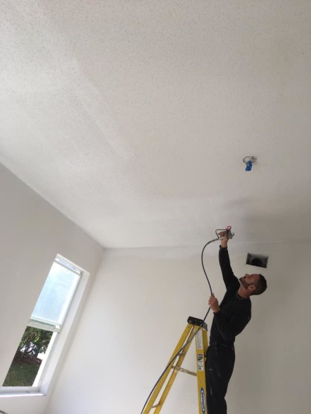 Fresh Coat of Paint on the Ceilings will Brighten Your Home