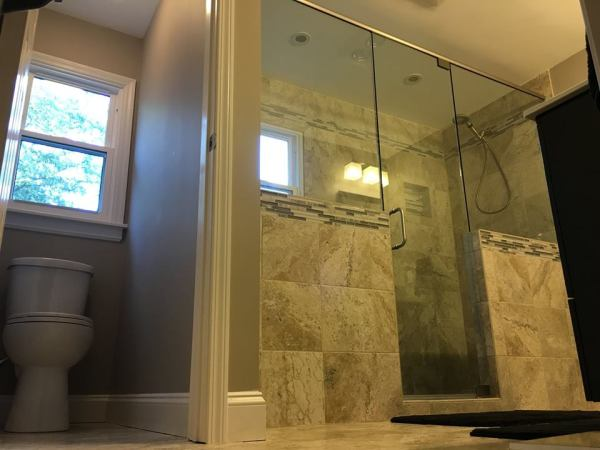 Finished Bathroom Remodel Lake Mary Florida