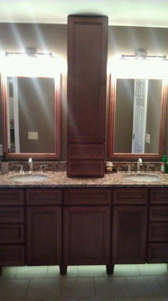 Custom Cabinet Master Bathroom Remodel